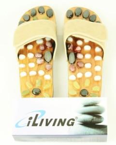Iliving Natura Stone Massage Shoes Reflexology Sandals